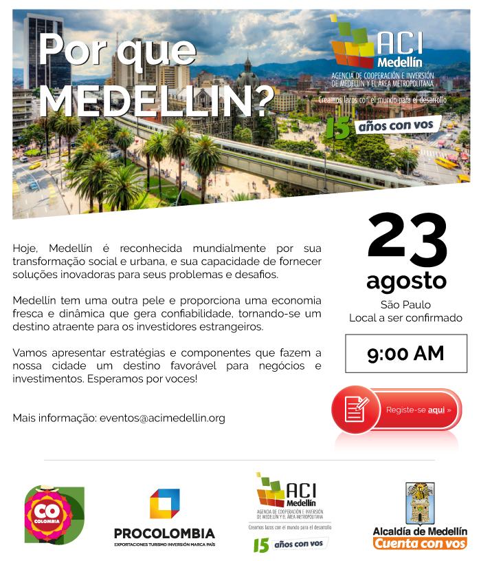 Por qué Medellín en San Pablo
