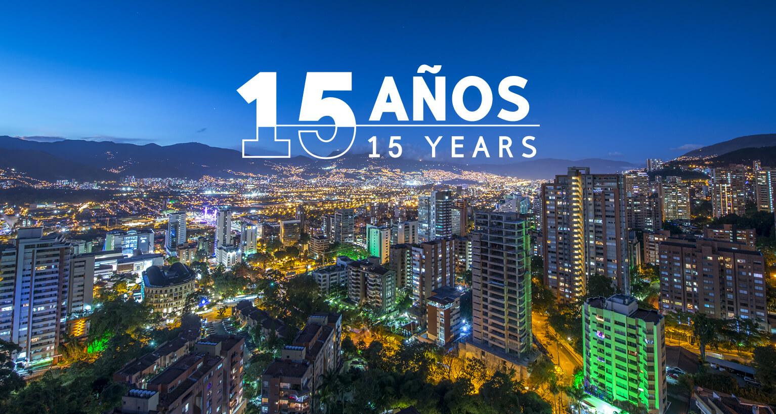 15 años de gestión ACI Medellín