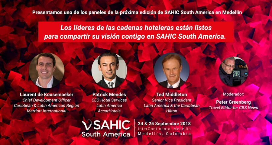 SAHIC South America 2018 tendrá destacados invitados